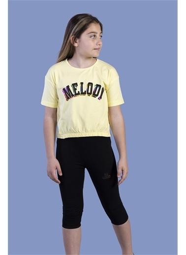 Toontoy Kids Toontoy Kız Çocuk Baskılı Takım Sarı